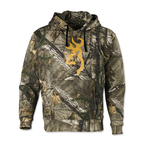 Wasatch Buckmark Hoodie, Mossy Oak Breakup Country