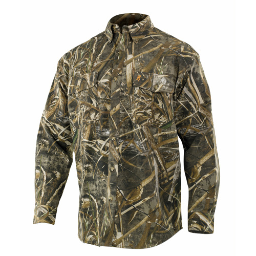 Wasatch Long Sleeve Shirt, Realtree Max 5 Camo