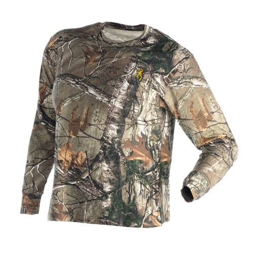 Wasatch Jr Long Sleeve T-Shirt, Realtree Xtra