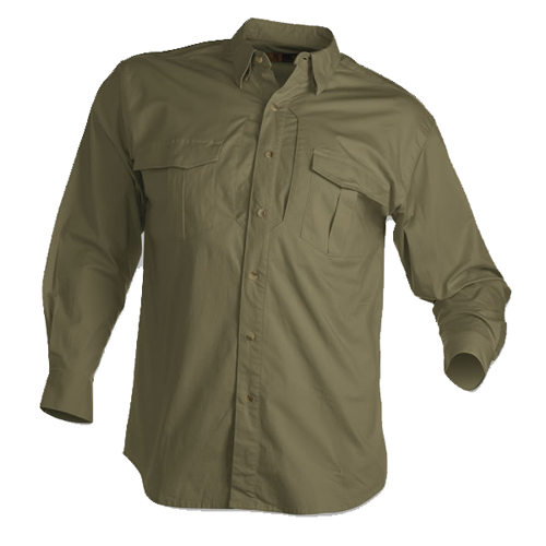 Tactical Long Sleeve Shirt, Forest Green