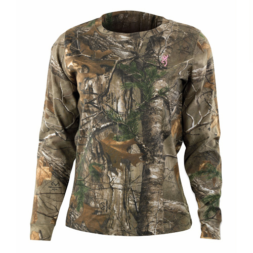 Wasatch Long Sleeve Shirt for Her, Realtree Xtra Camo