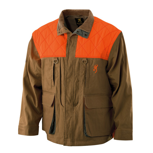 Upland Canvas Jacket, Zip Sleeve, Field Tan