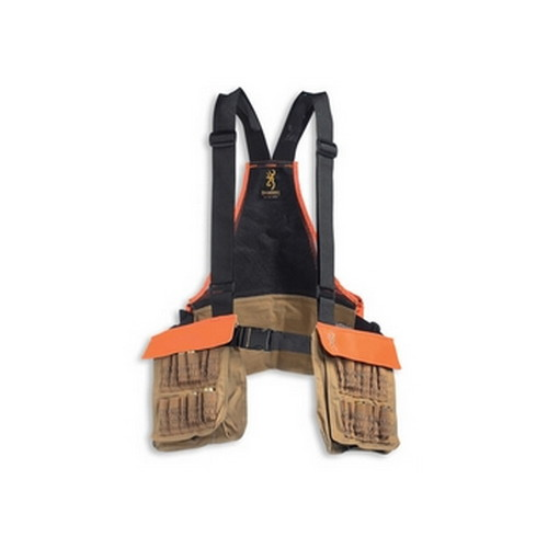Pheasants Forever Strap Vest, Field Tan/ Orange