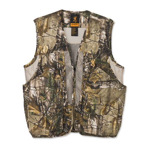 Upland Game Vest, Realtree Xtra