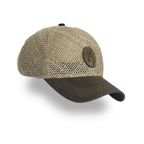 Straw w/Repeltex Brim, Brown