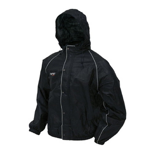 Road Toad Reflective Jacket Black Medium