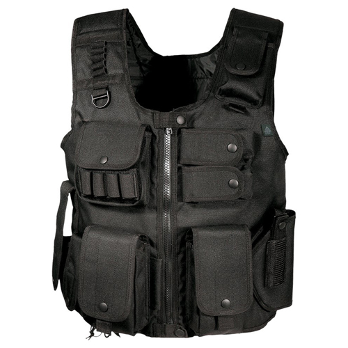 UTG Law Enforcement Tactical Vest, Black
