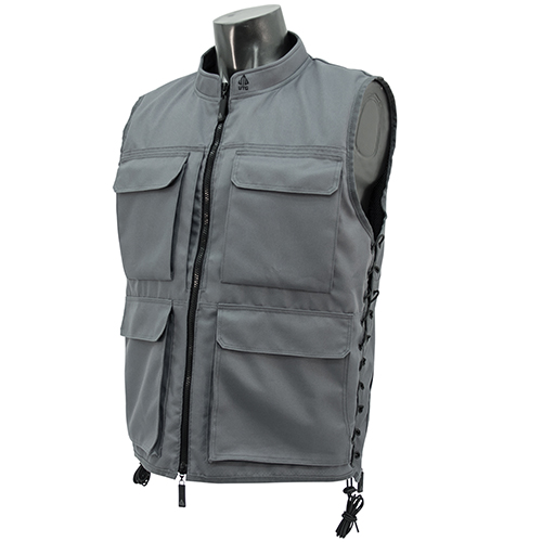 UTG Hunter Men's Sporting Vest, Gray/Black